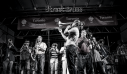 Street Brass band playing live